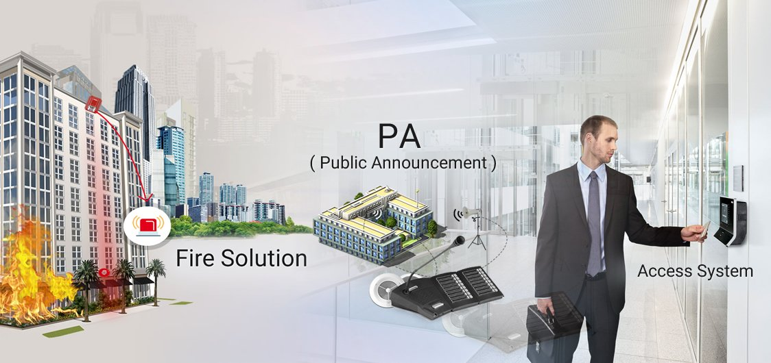 Fire, Access System & PA Solution